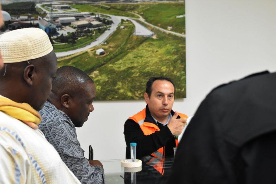 Kamerunlu Belediye Başkanlarından İSTAÇ'a Ziyaret