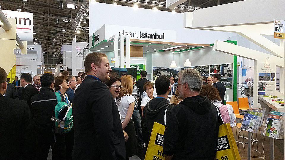 ISTAC Inc. at IFAT Exhibition 2016