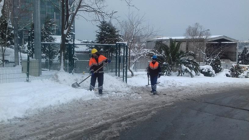Yoğun Kar Yağışı İle Mücadele Çalışmalarımız
