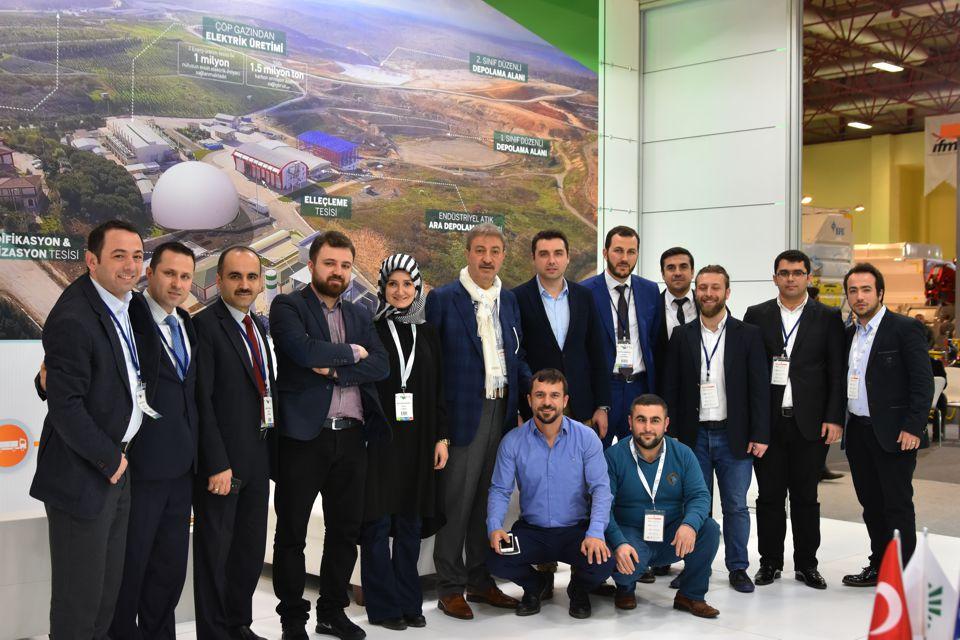 İSTAÇ IFAT Eurasia 2017  Çevre Teknolojileri İhtisas fuarında  göz doldurdu