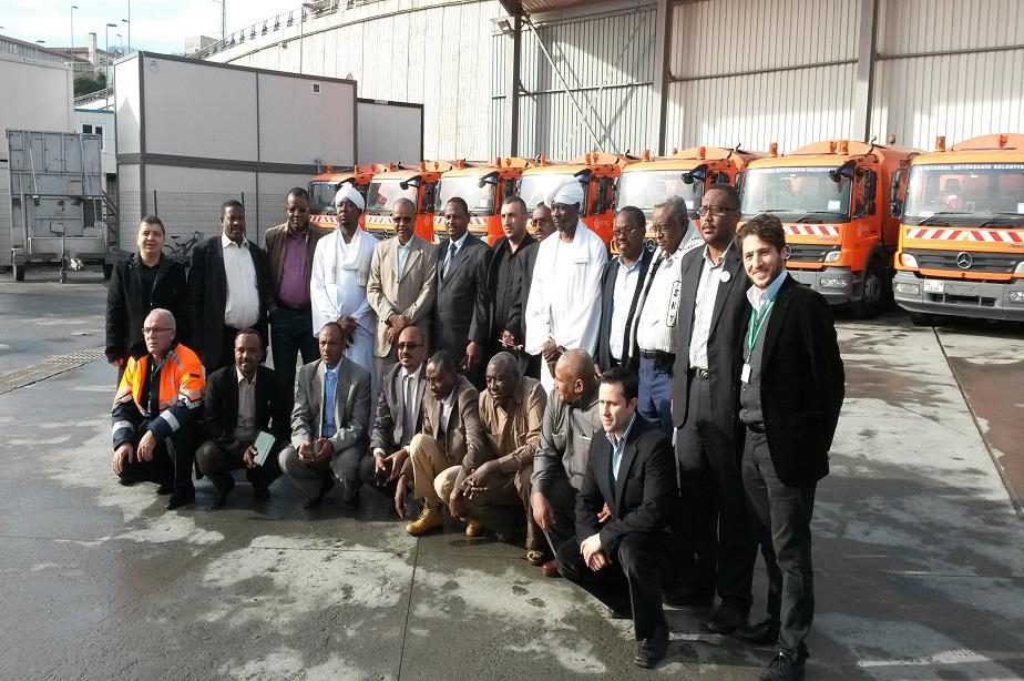 Sudan Belediye Başkanları Heyeti Tesislerimizi Ziyaret Etti