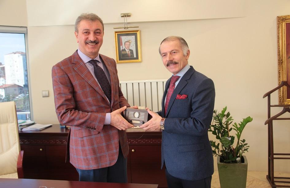 Bayrampaşa Belediye Başkanı Atila Aydıner'den İSTAÇ'a ziyaret
