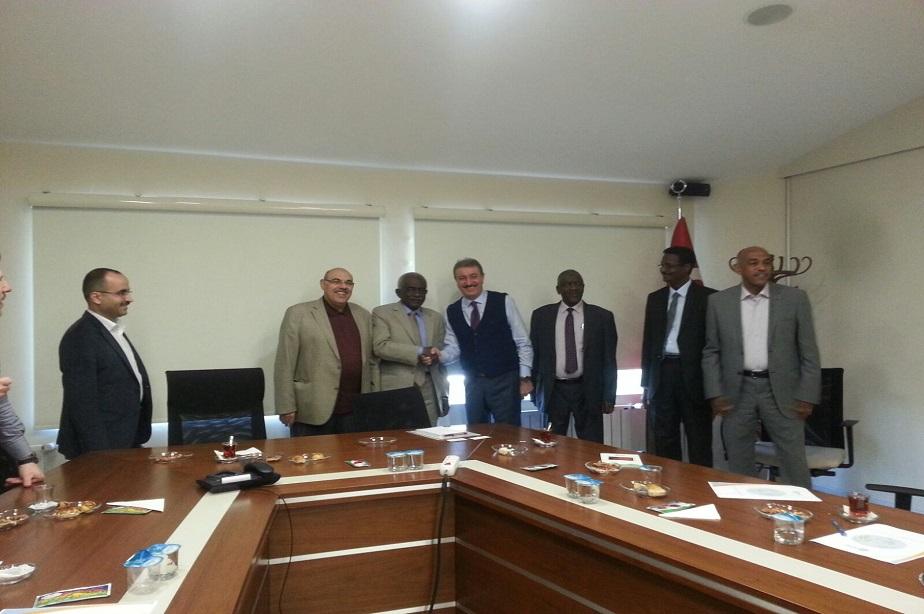 Sudan'ın başkenti Hartum'dan gelen misafirlerimizi  konuk ettik