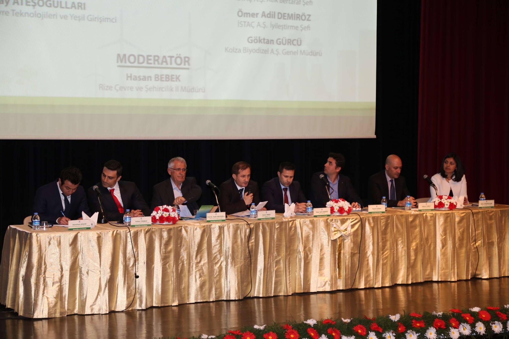 Rize Belediyesi'nden Kentsel Atıklar ve Çevre Yönetimi Konferansı