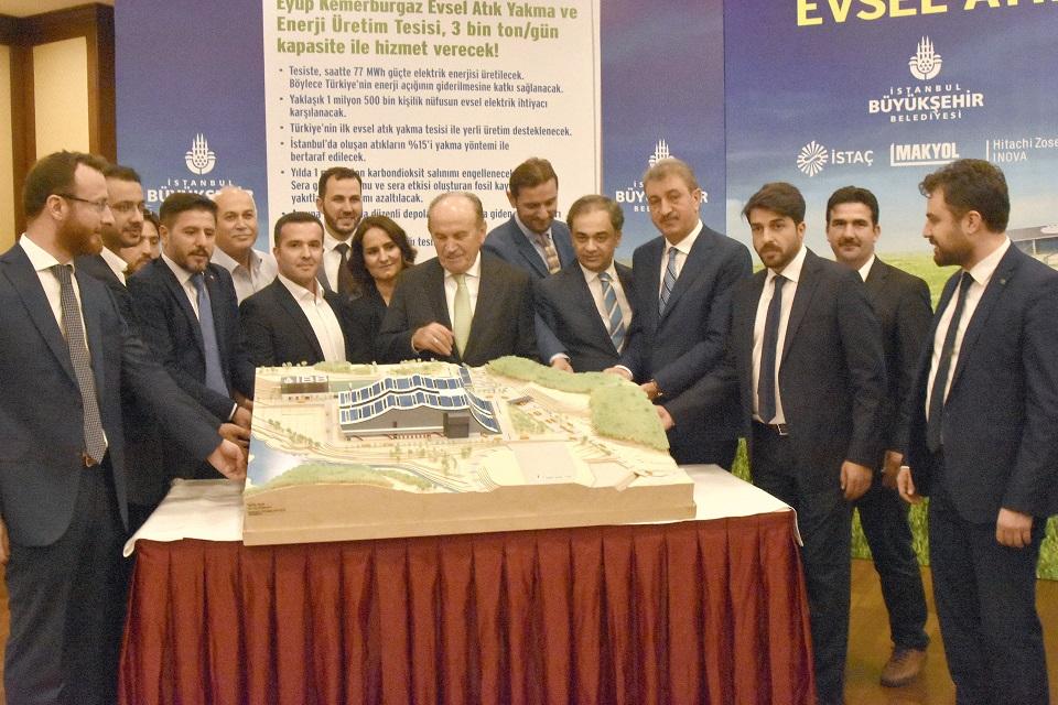 Türkiye'nin İlk Evsel Atık Yakma Tesisi İçin İmzalar Atıldı