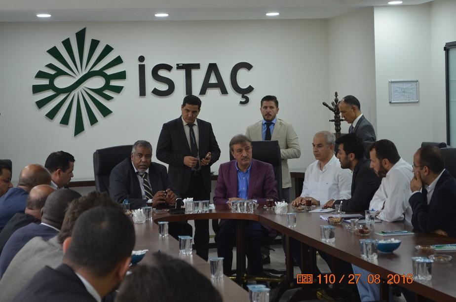 Libya Yerel Yönetimler Bakanından İSTAÇ'a ziyaret