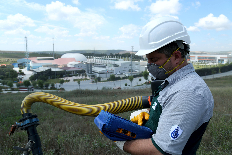 İstanbul'da 1 Milyon Nüfusun Elektriği Çöpgazından Üretiliyor