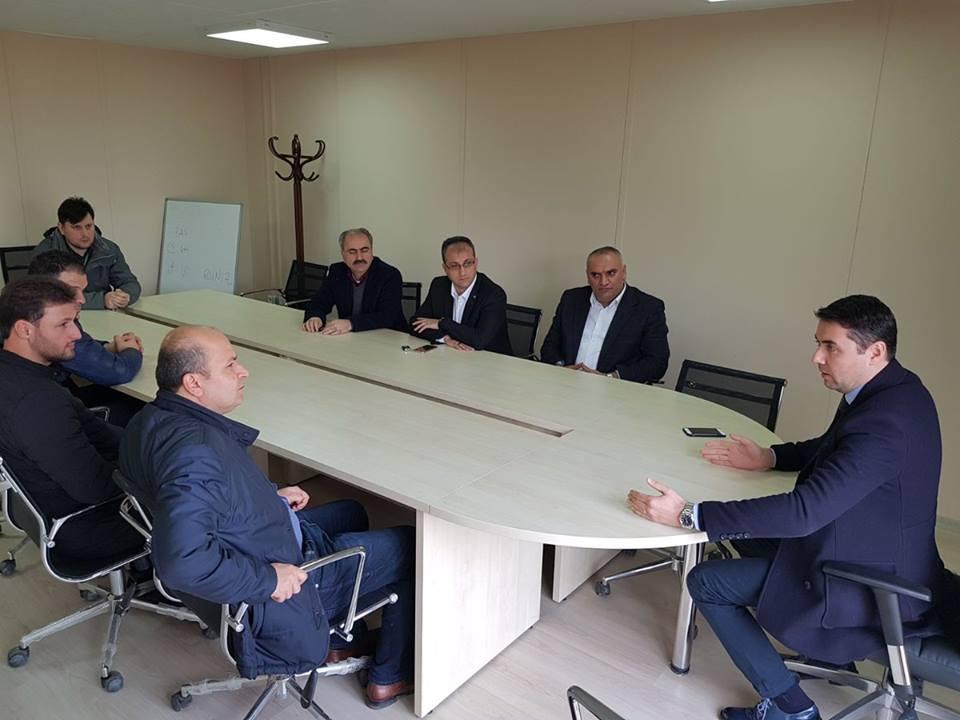 İSTAÇ'tan  Misafir Belediye Ekibine Saha Gezisi