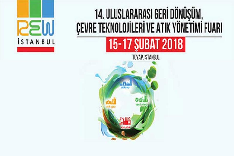 REW İSTANBUL 2018 Kapılarını Açtı