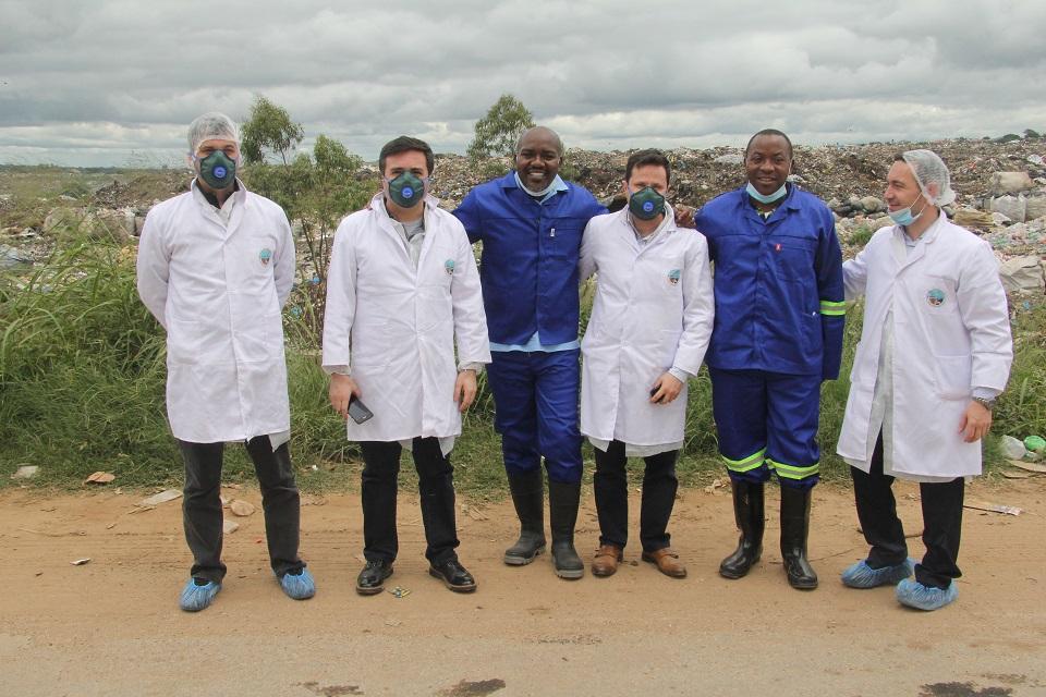 İSTAÇ ve Kızılay'dan  Zambiya'ya İnsani Yardım ve Eğitim Desteği
