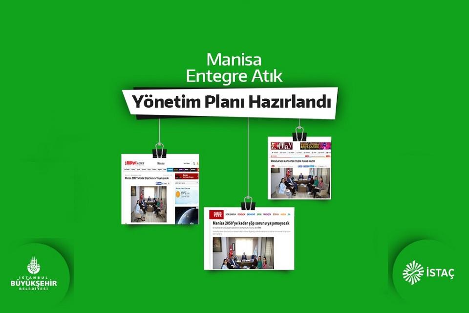 Manisa Entegre Atık Yönetim Planı Hazırlandı